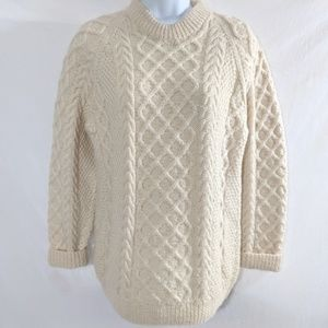 Vintage Wenden Fisherman's Wool Sweater